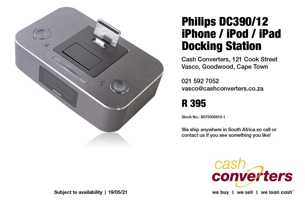 Philips DC390/12 iPhone / iPod / iPad Docking Station
