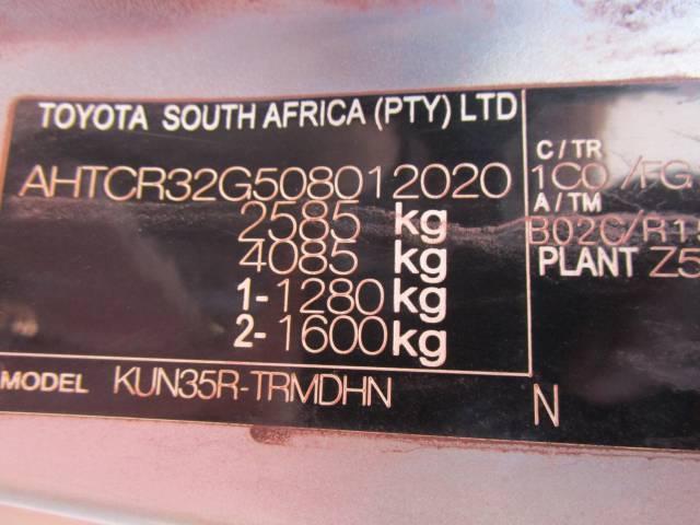 2010 Toyota Hilux 2.5D 4D SRX
