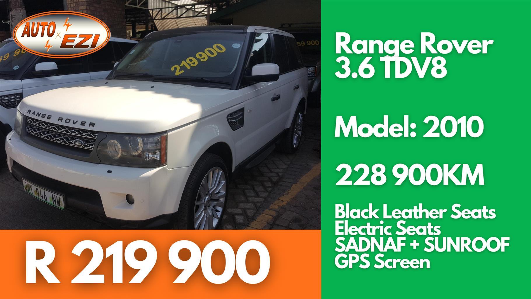 2010 Land Rover Range Rover TDV8 Autobiography
