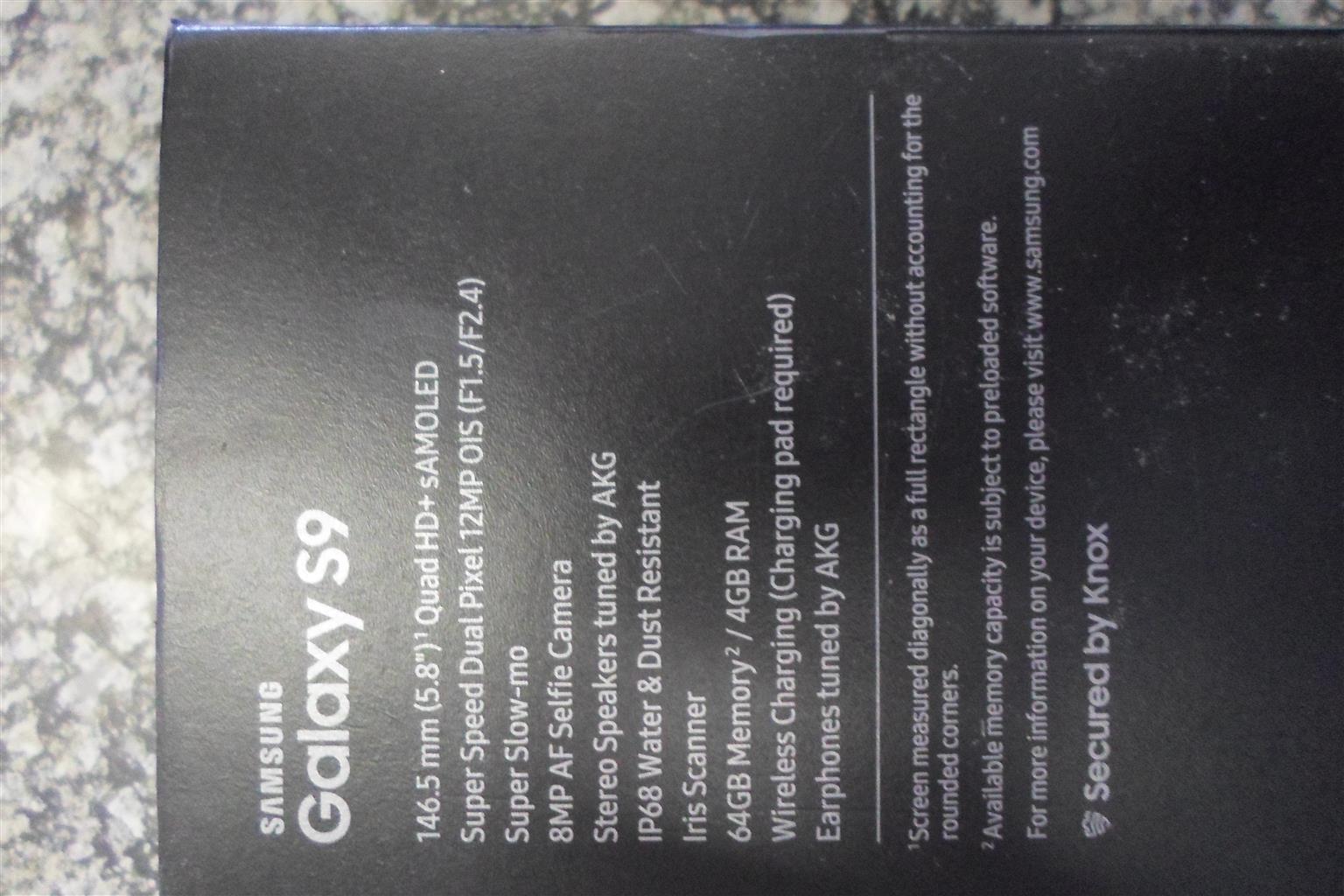 64GB Samsung S9