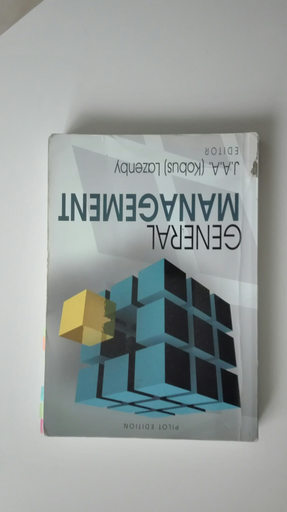 Text Book General Management Pilot Edition