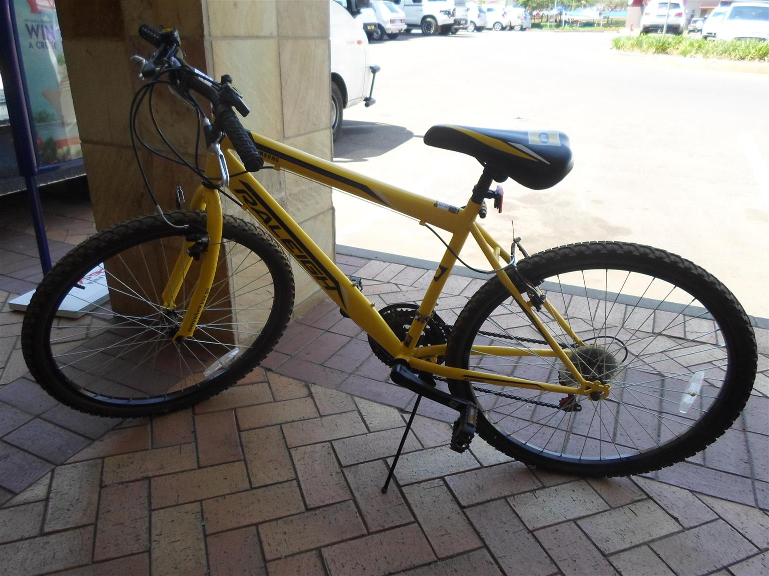 Raleigh MTN Samsung Branded Bicycle