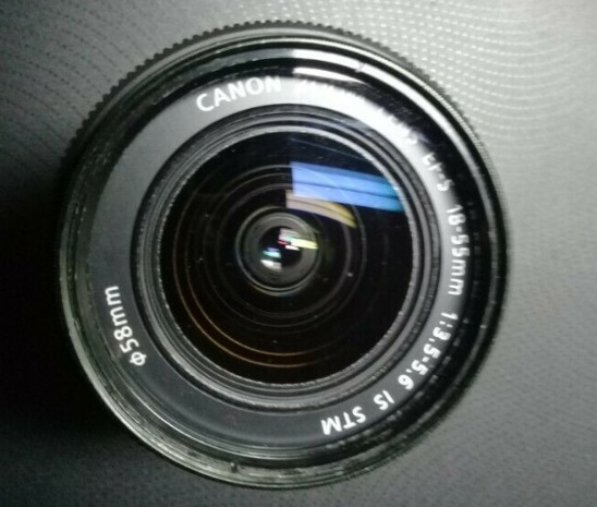 Canon lense 18 -55 3.5F - 5,6 IS STM