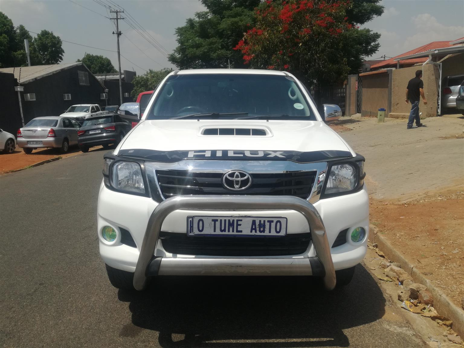 2012 Toyota Hilux 3.0D 4D Raider Dakar edition