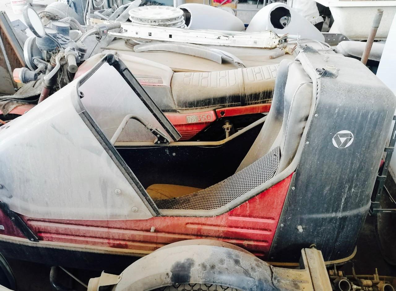 Jawa TS350 & Velorex sidecar