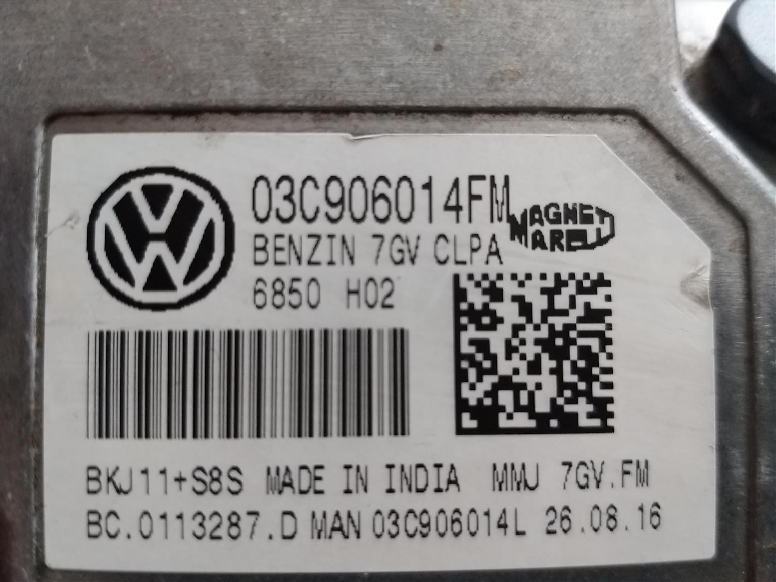 VW Polo ECU