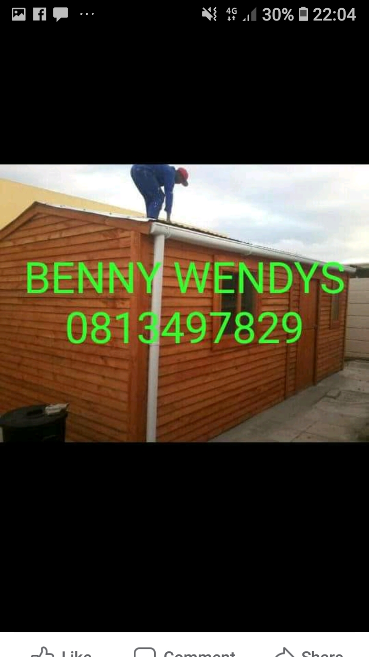 We do wendy houses and nutec in Cape town with affordable prices