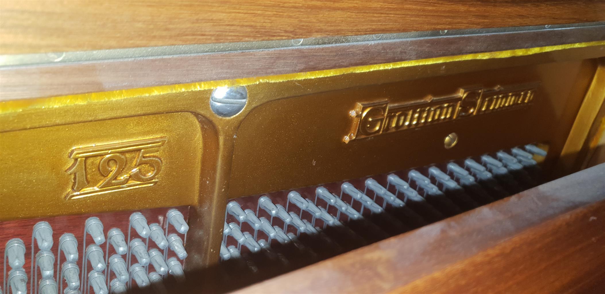 Grotrian Steinweg Upright Piano 1923