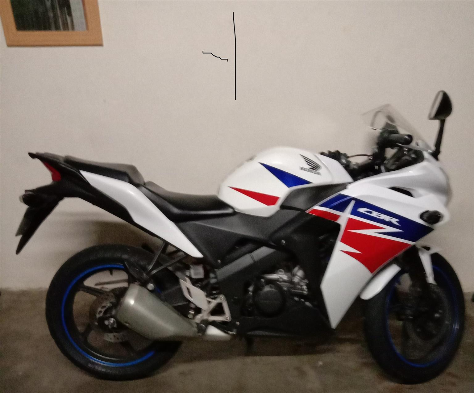 2015 Honda CBR