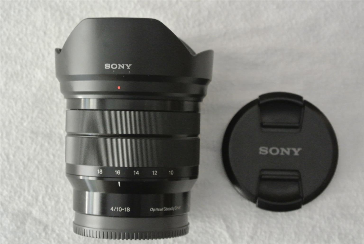 Sony E 10-18 F4 OSS Lens (E Mount) Mint Condition