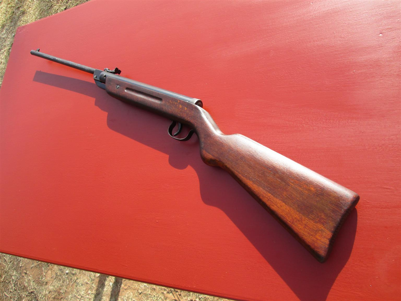 DIANA Mod. 25: air-gun, air-rifle, windbuks, vintage, collectable, fully functional (Gecado, Falke, BSA, BSF, Telly, Wishco Erlangen, Webley also available and listed)