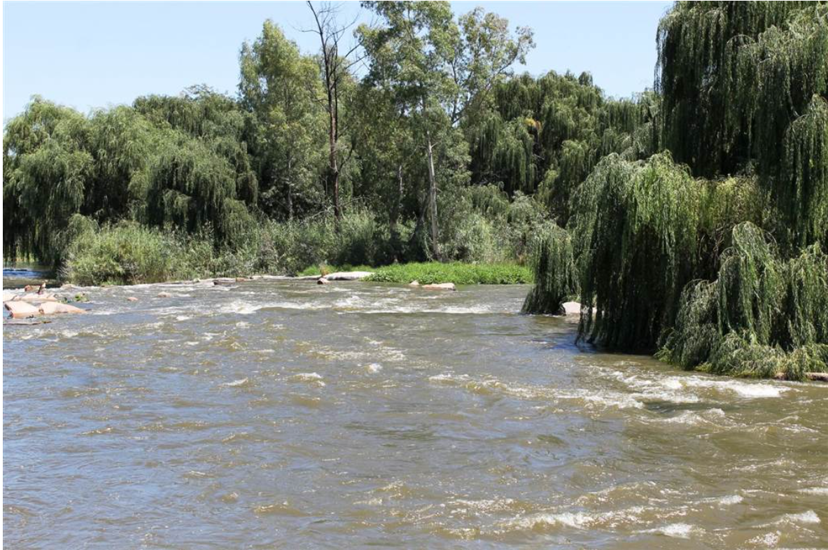 River Stand in exclusive part of Parys Gholf Estate