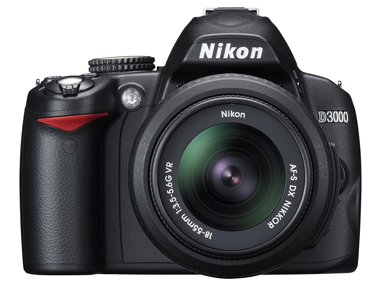 Nikon D3000 is a 10.2-megapixel DX format DSLR