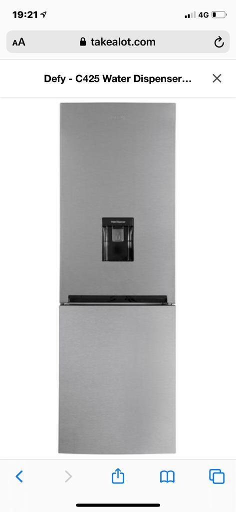 Defy water dispenser fridge