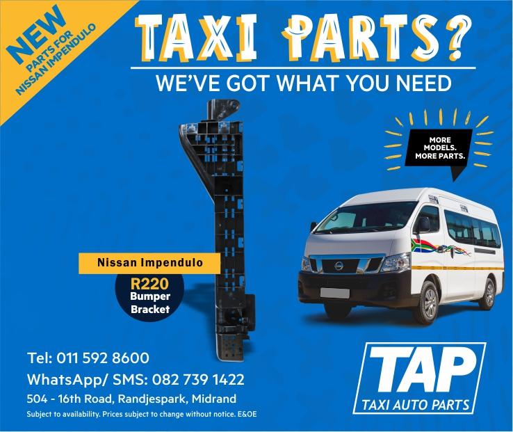 Bumper Bracket Clip - NEW parts for Nissan Impendulo - Taxi Auto Parts - TAP