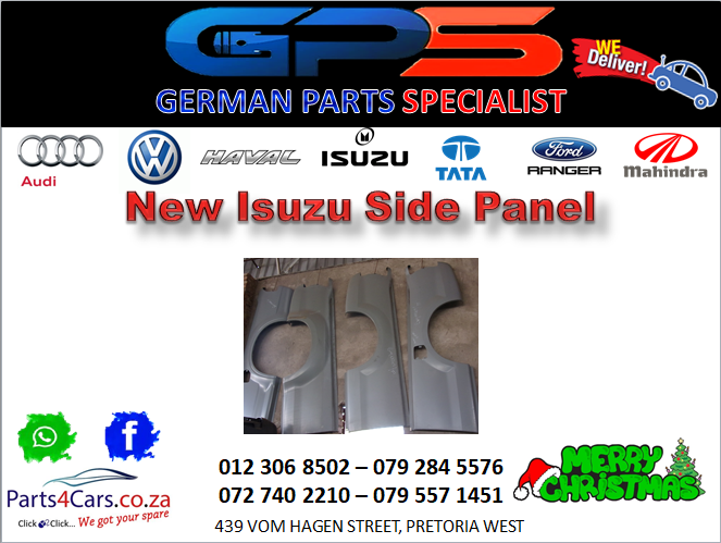 New Isuzu Side Panel for Sale