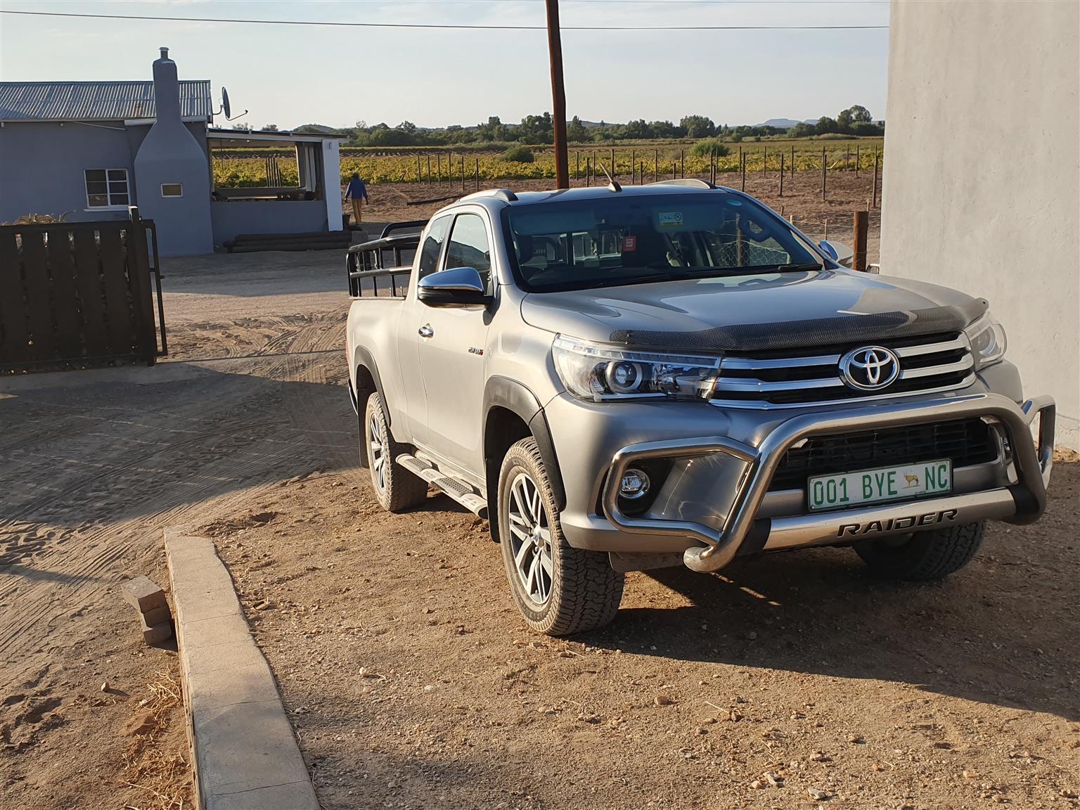 2018 Toyota Hilux Xtra cab HILUX 2.8 GD 6 RB RAIDER 4X4 P/U E/CAB A/T