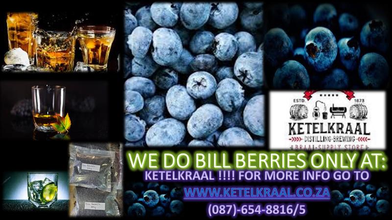 Bill Berries Botanicals for Gin