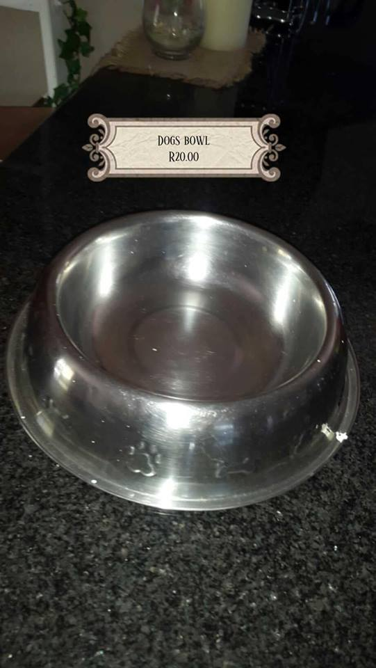 Dog's bowl for sale