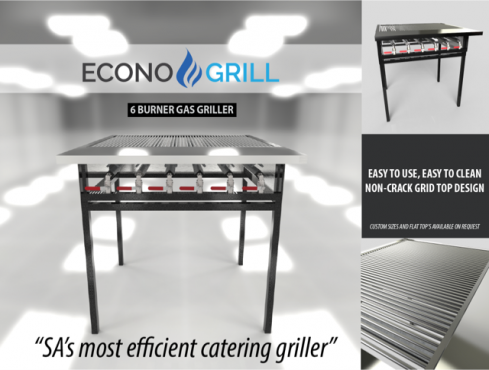 Econo Grill - LP Gas Grillers - Grillin since '99