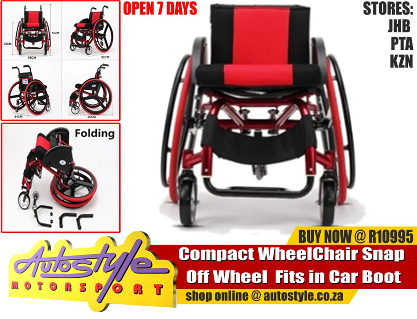 Compact Fold up  Wheel Chair