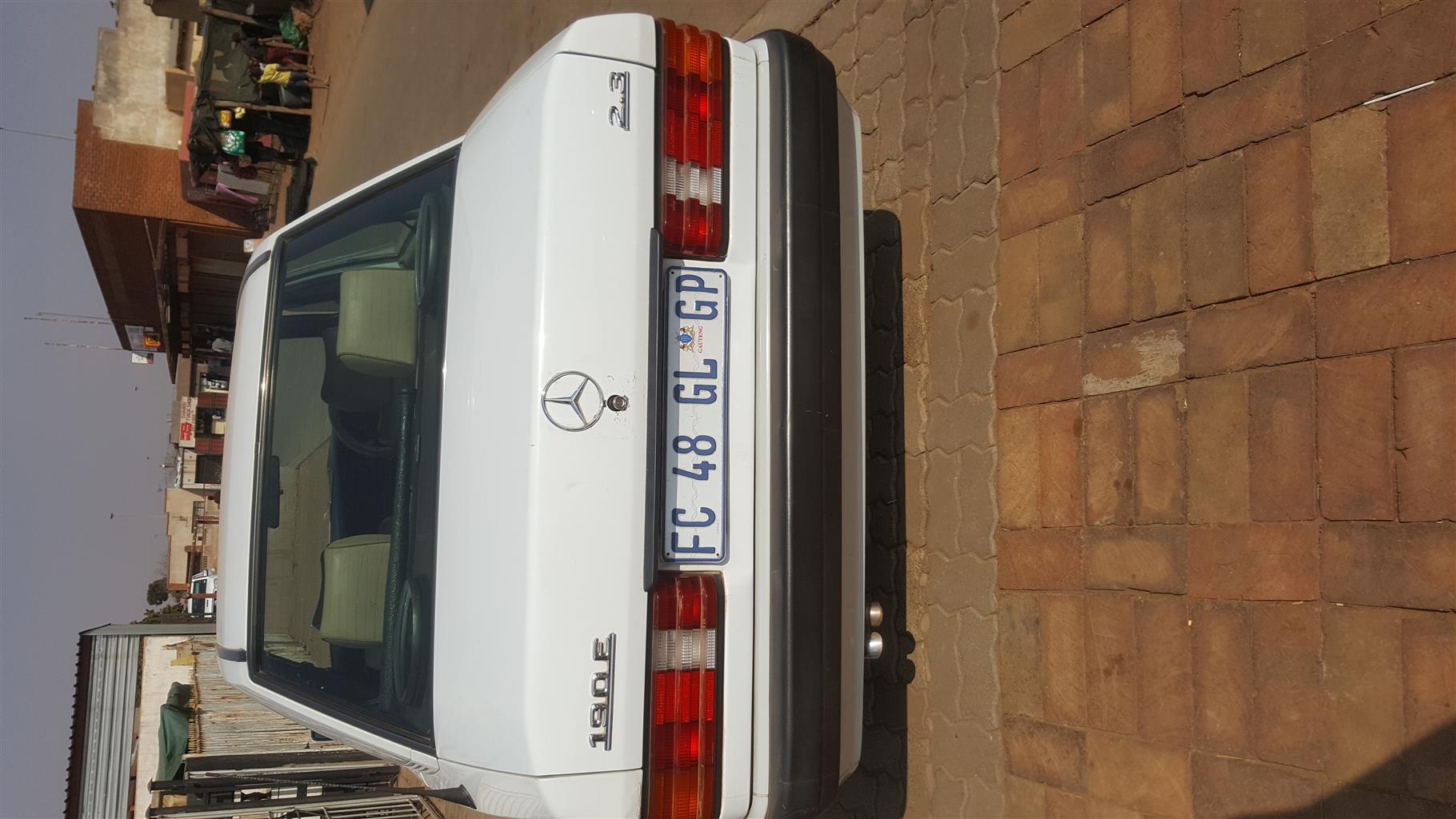 1996 Mercedes Benz 190