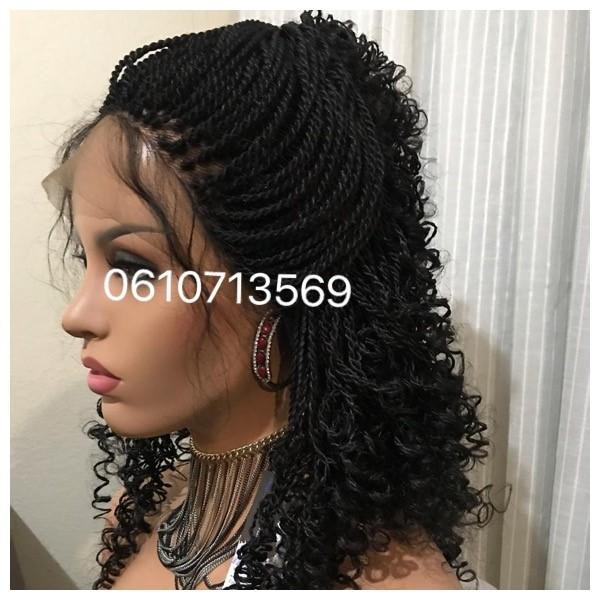 masai twist lace frontal wig