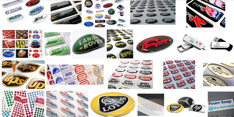 Bubble Stickers also known as Gel Stickers