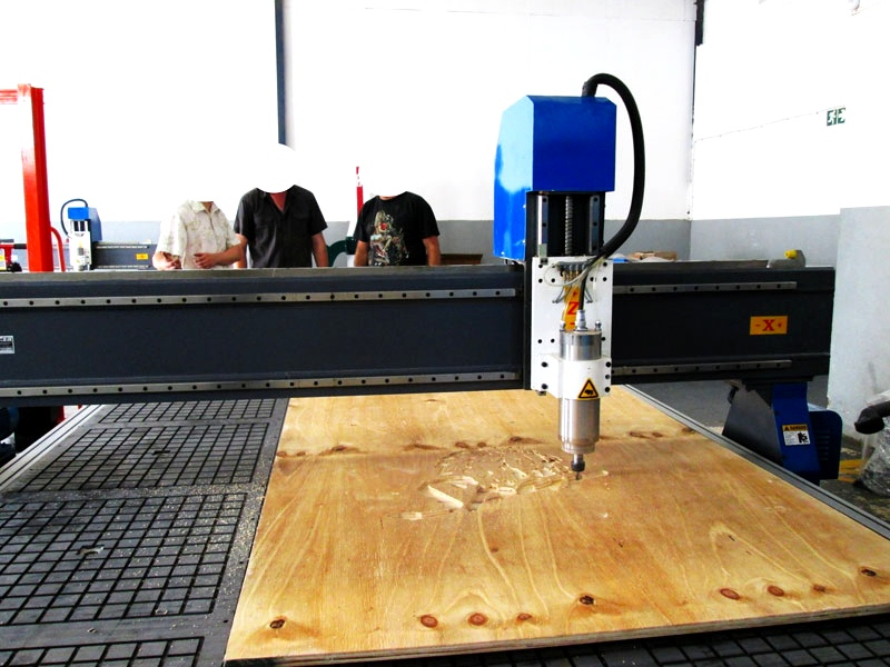 R-2040LC/65L EasyRoute 380V Lite 2050x4000mm Aluminium T-Slot Clamping CNC Router, 6.5kW