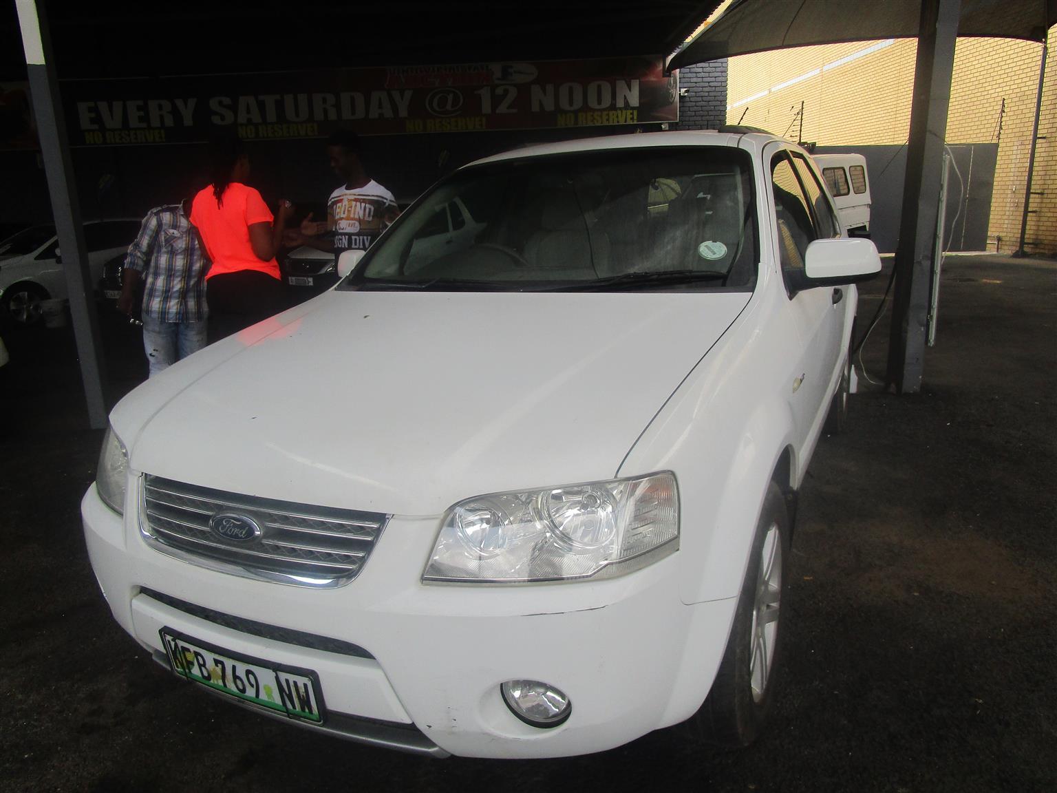 2009 Ford Territory 4.0 Ghia AWD