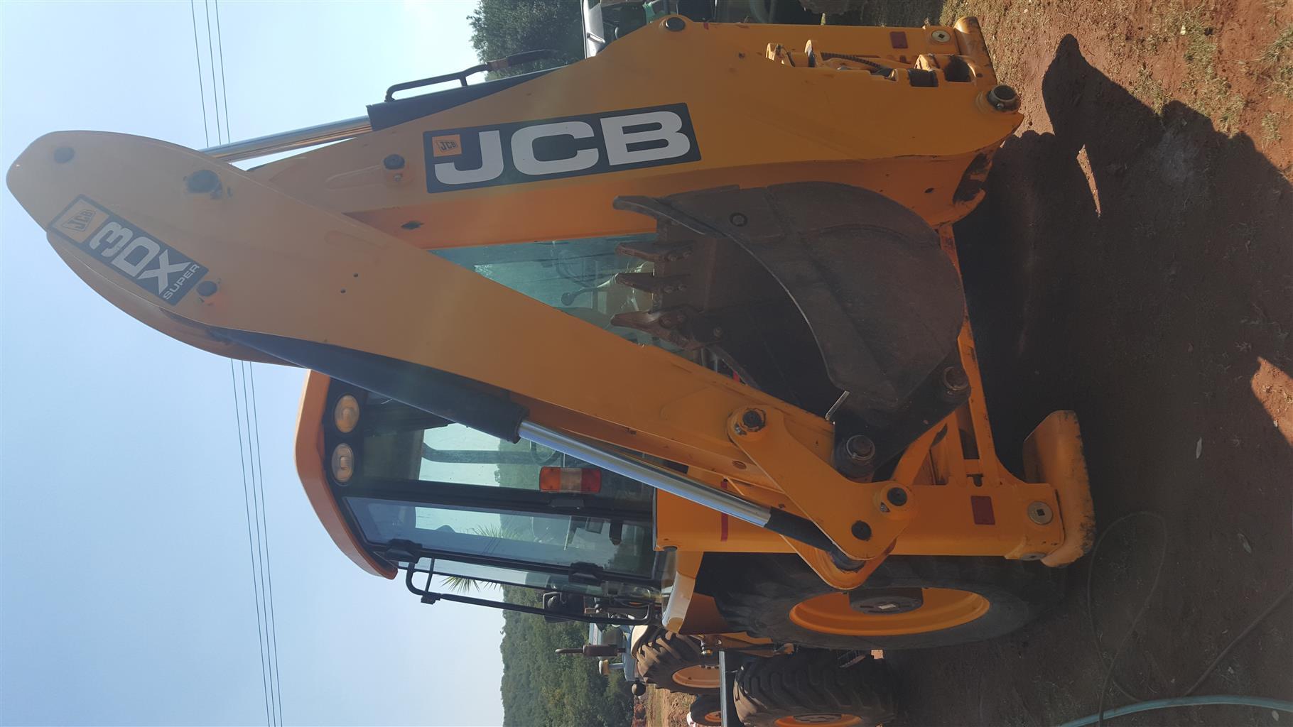 JCB 3DX 4x4 2015 TLB