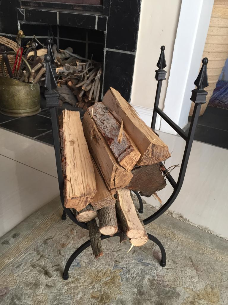 Firewood Holder - Woodhold - Winter is coming!