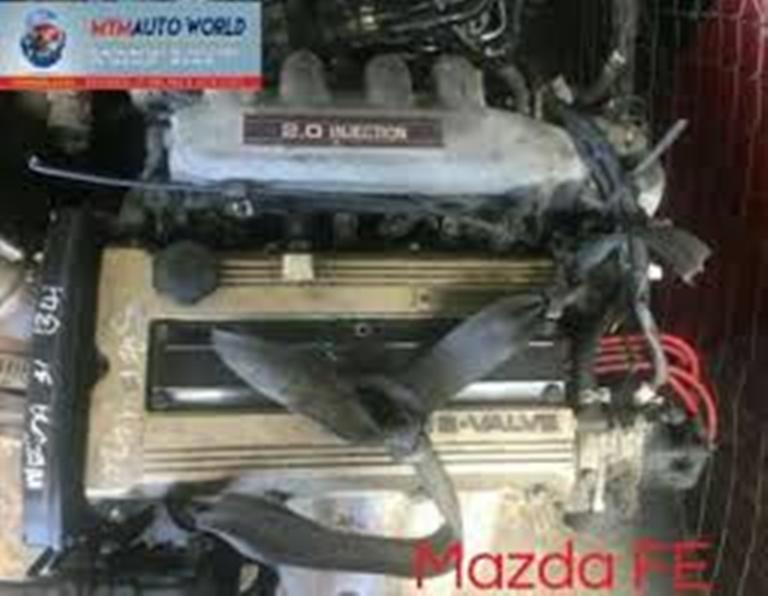 Imported used 81-99 MAZDA 626/B SERIES/E SERIES/ 2.0L 16V DOHC GOLD engines.