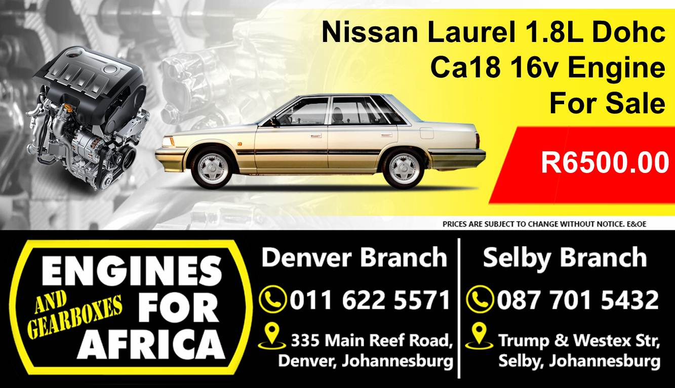 nissan laural 1 8l dohc ca 18 16v fuel inj engine for sale junk mail