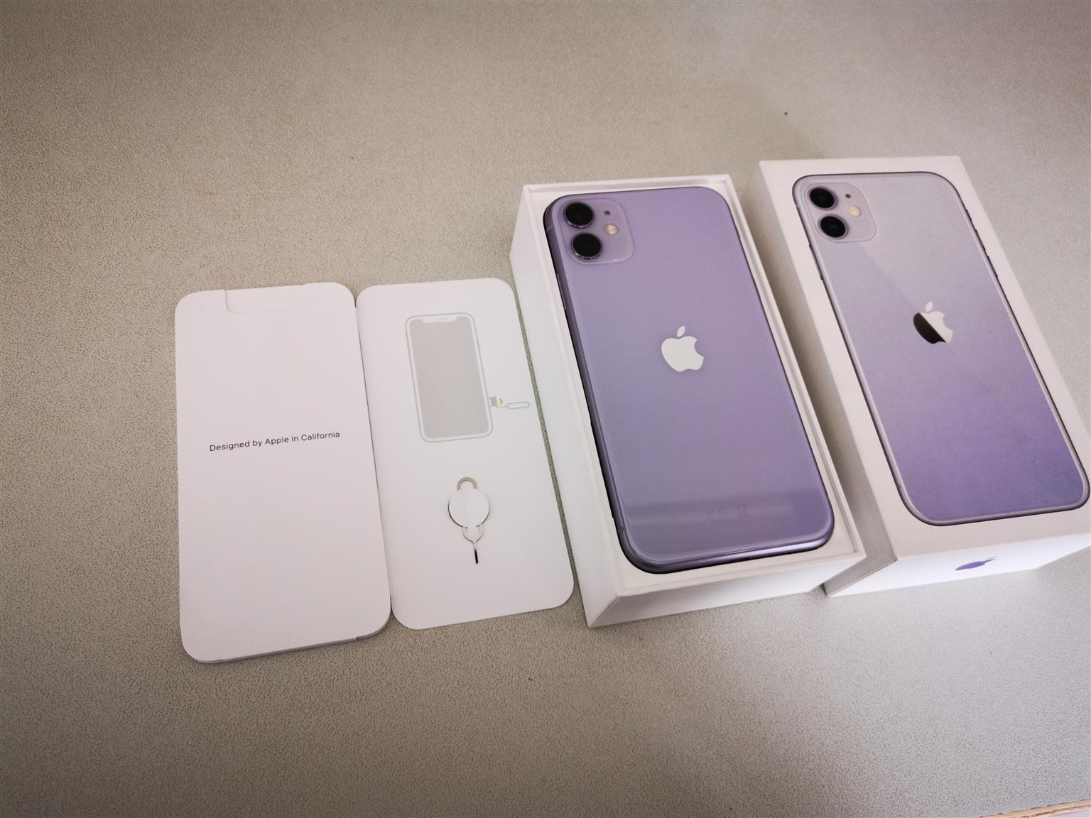 Apple iphone 11 Purple color 64gb phone is brand new in the box never used