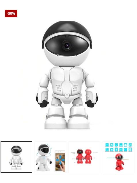 Mini Camera WiFi Robot + Free 32GB