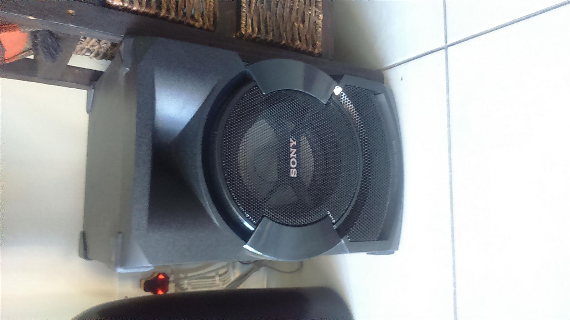 SONY SHAKE X10 Home Theater with recording