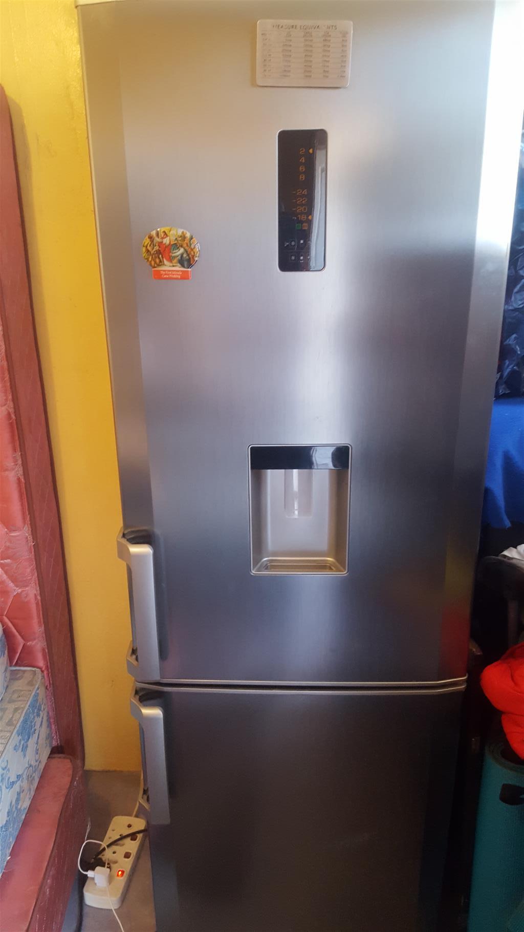 Frost free Defy fridge metallic