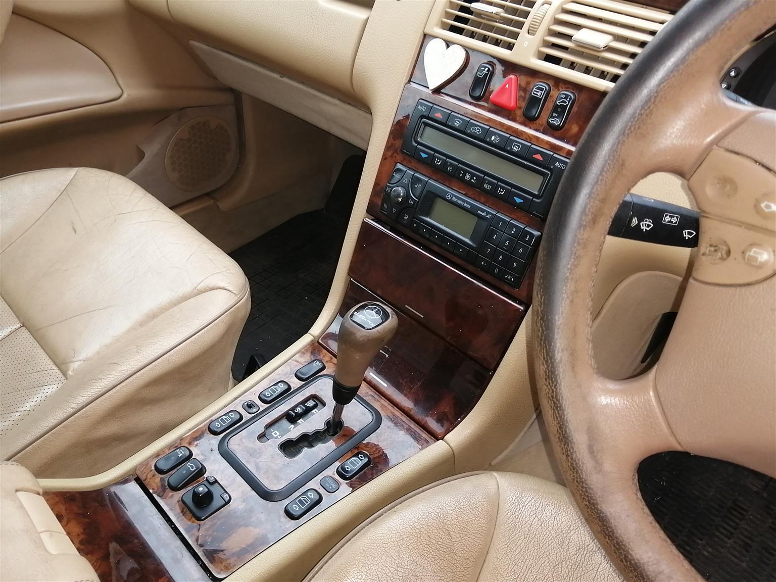2001 Mercedes Benz E Class E250 Elegance