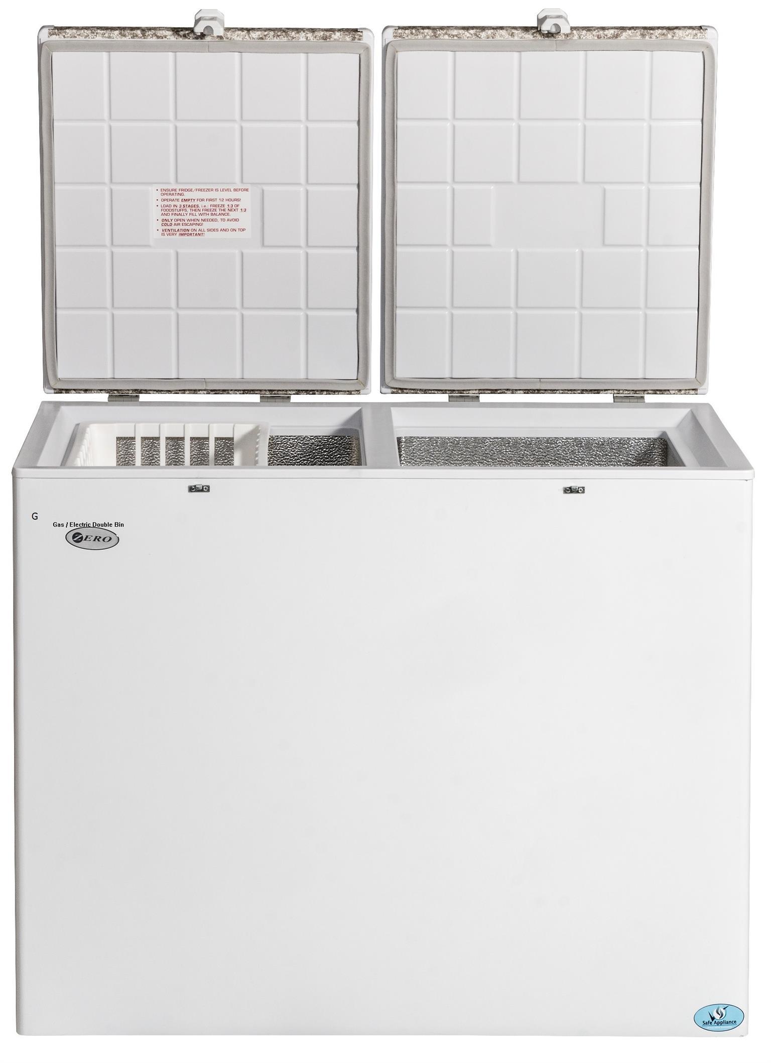 2 Way Gas / Electric Zero Freezers