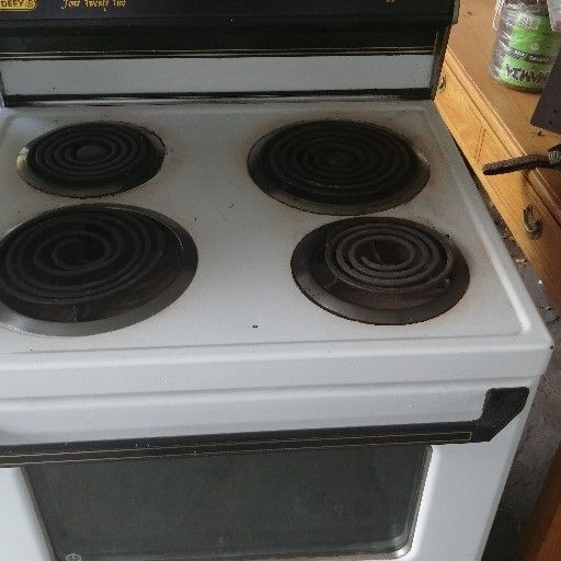 Defy big stove 4 plate with oven