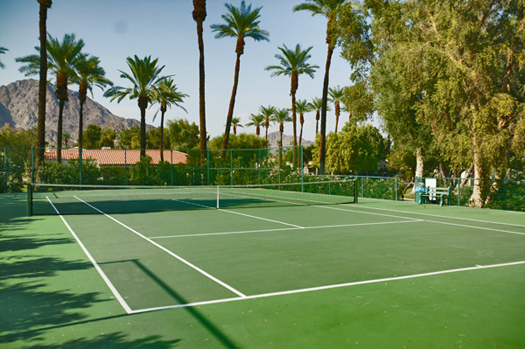Resurfacing and Reconstruction of Tennis Courts