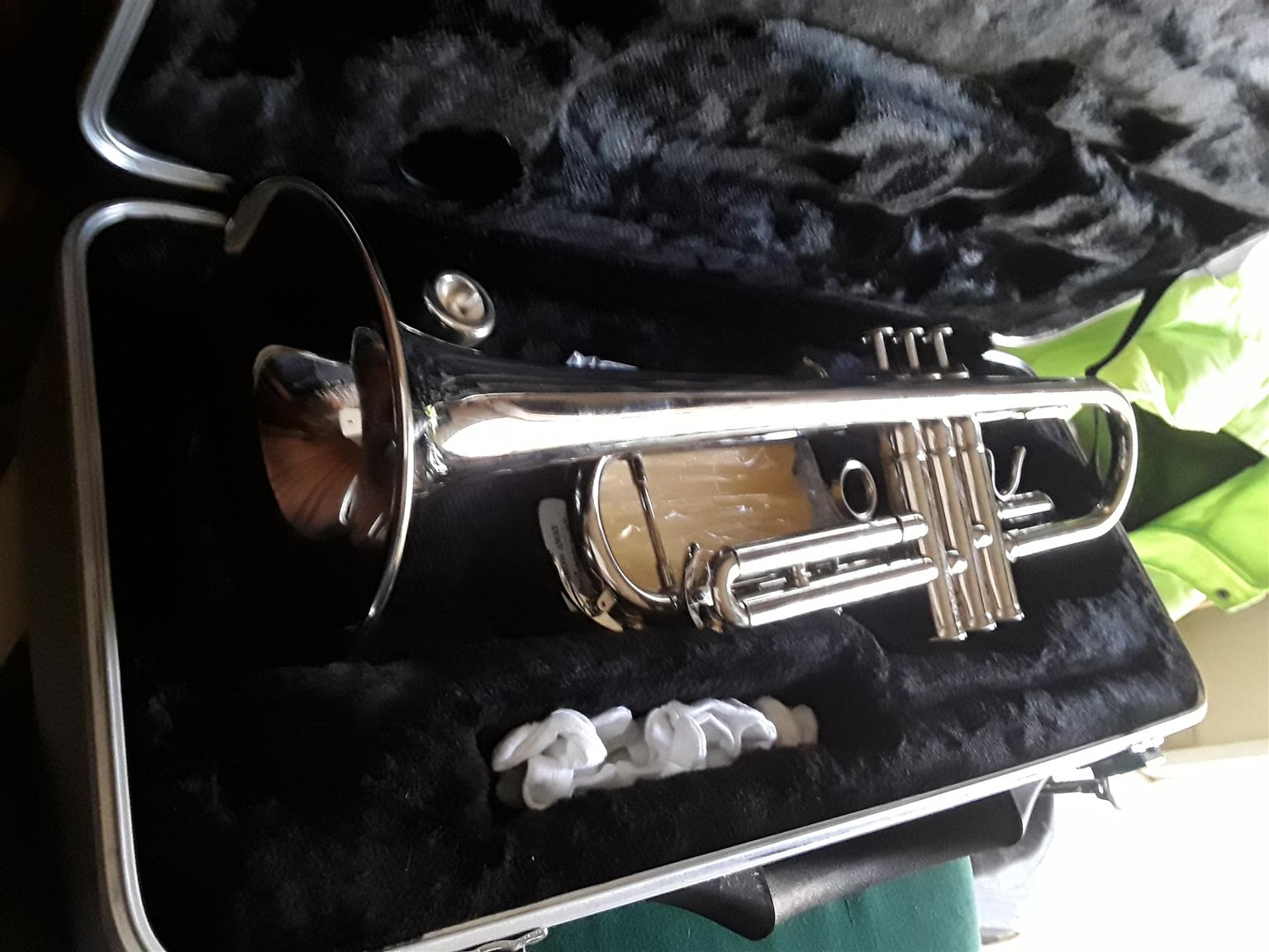SantaFe chrome Trumpet to swop or for sale
