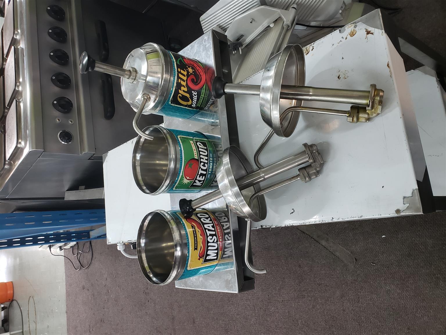 Server Condiment pump – Dispenser