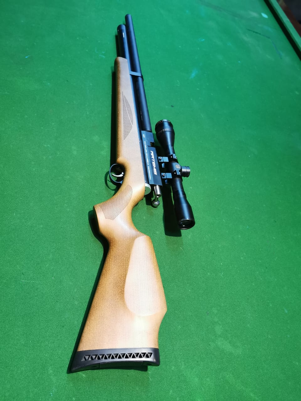 Artemis M22 pump 1 x extra ammo  R11500. 00  SPECIFICATION CALIBER	5.5mm(.22)  70 shot