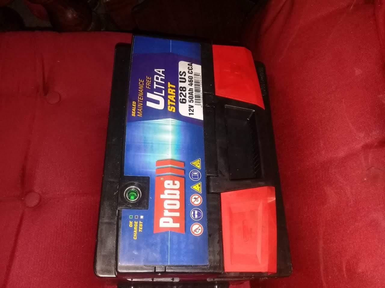Brand-new car battery