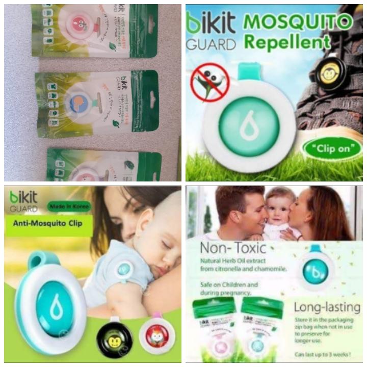 Bikit Guard mosquito clips