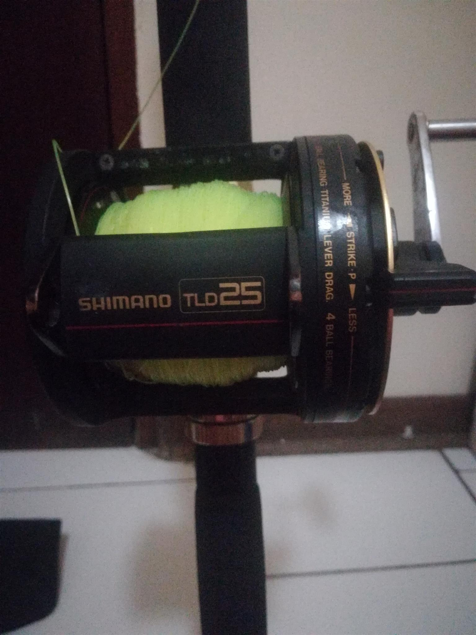 Shimano Tiagra B Stand Up 3050 Deep Sea Fishing Rod