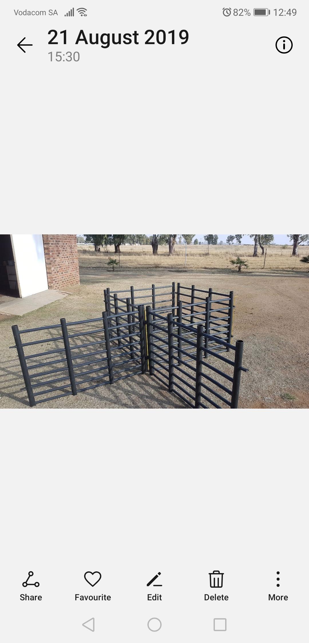 Sheep gates