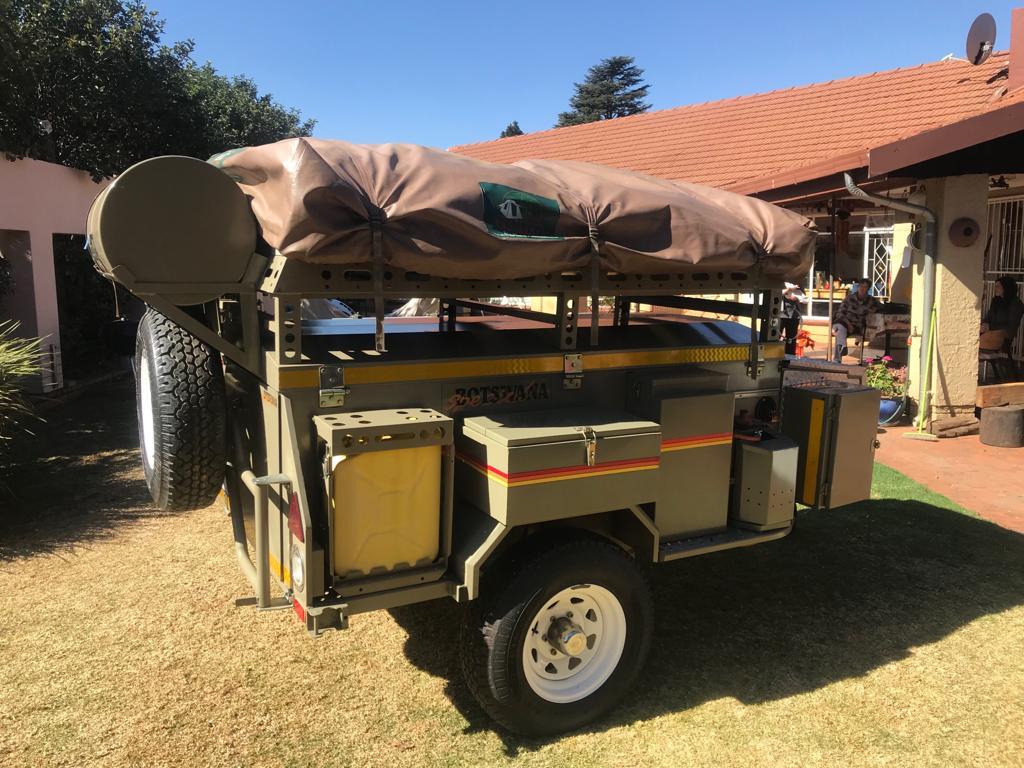Venter Botswana Special Caravan